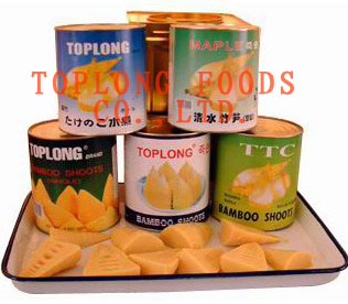 Canned Bamboo Shoots Whole and Cuts